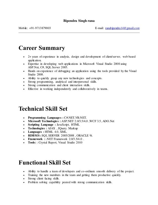 resume taranjeet singh 3 5 resume for java position with 4
