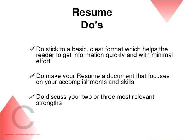 How to do resume on word