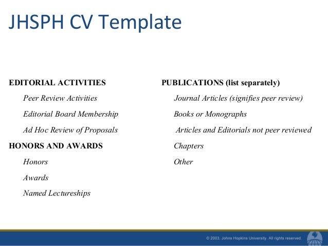 jhsph thesis advisory committee