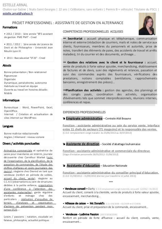 resume format  modeles de cv assistante polyvalente