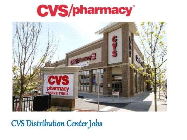 cvs pharmacy distribution center jobs