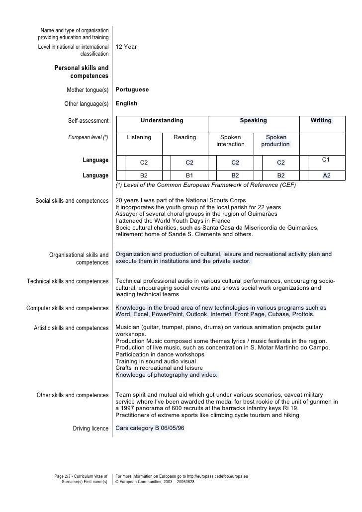 resume language skills - Languages Skills Resume