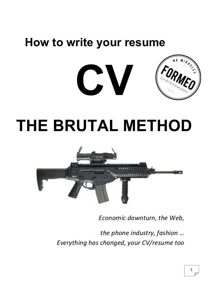 Cv the marketing way François Meuleman