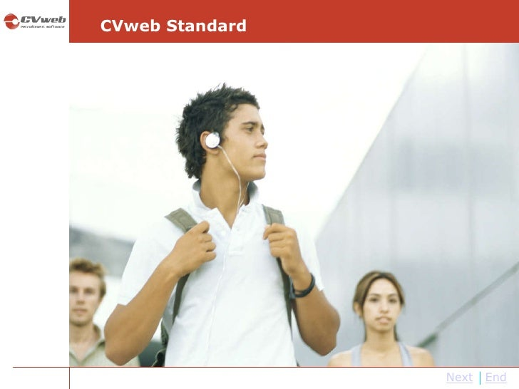 Next End CVweb Standard