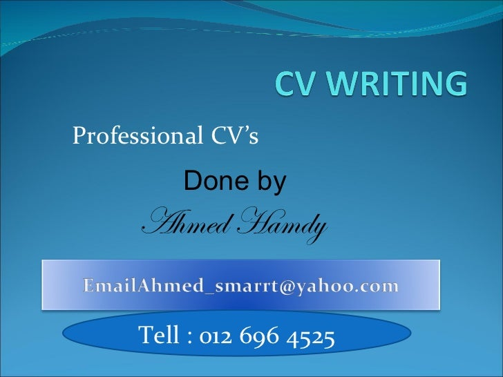 writing effective resume ppt