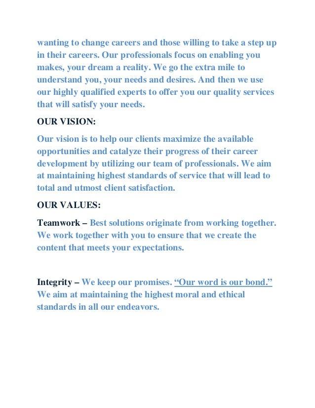 why we work essay