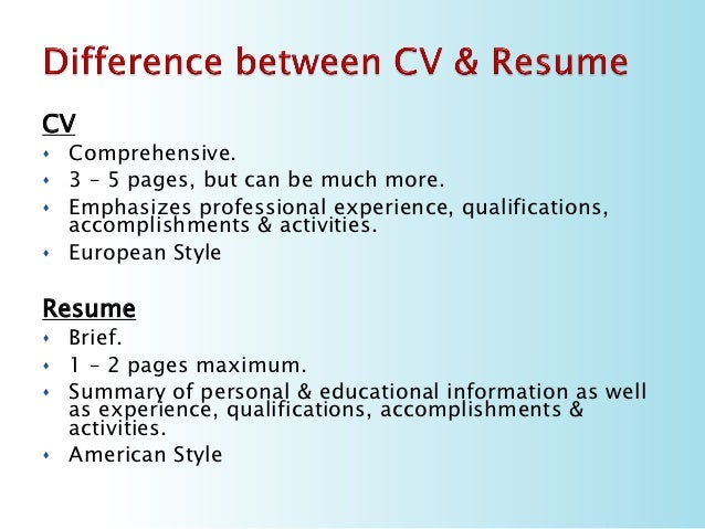 vs cover letter resume difference resume and cover letter writing - What Goes In A Cover Letter For A Resume