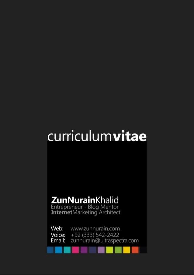 ZunNurain CV
