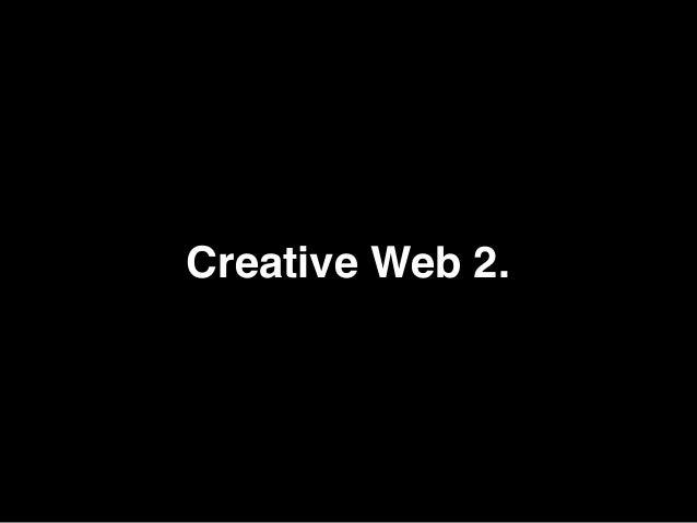 Creative Web 2.