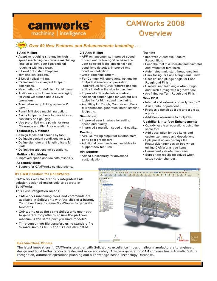 CAMWorks 2008                                                                             CAMWorks 2008                   ...