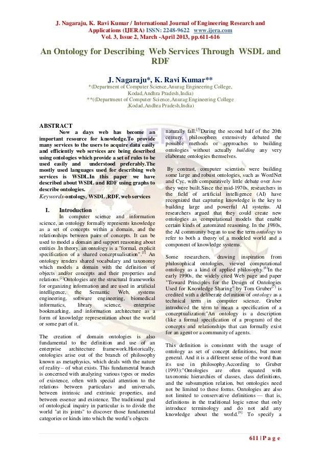 J. Nagaraju, K. Ravi Kumar / International Journal of Engineering Research and                    Applications (IJERA) ISS...
