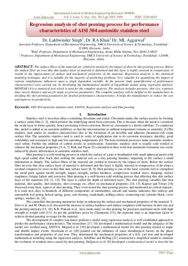 International Journal of Modern Engineering Research (IJMER) www.ijmer.com Vol. 3, Issue. 5, Sep - Oct. 2013 pp-3053-3059 ...