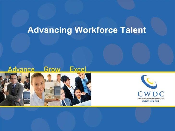 Advancing Workforce Talent