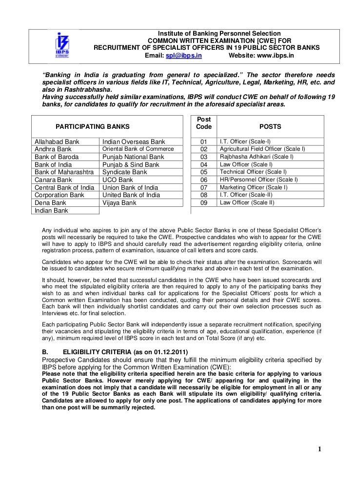 Cwe advertisement for_specialist_officers