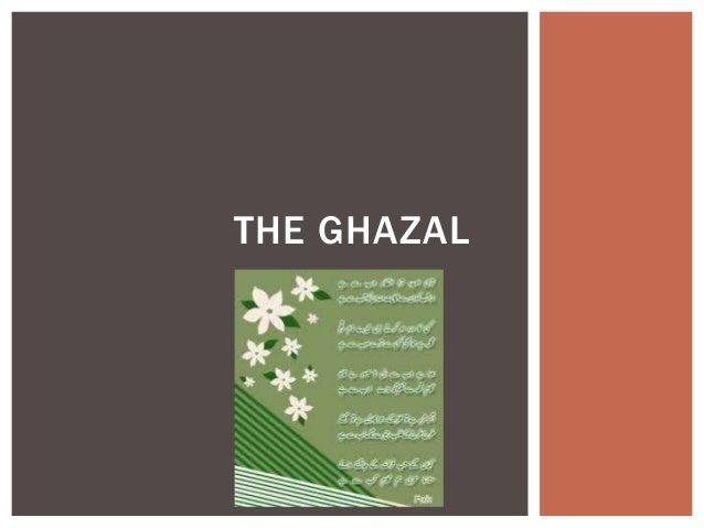 THE GHAZAL