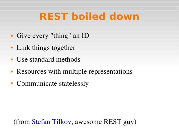 Http rest dissertation