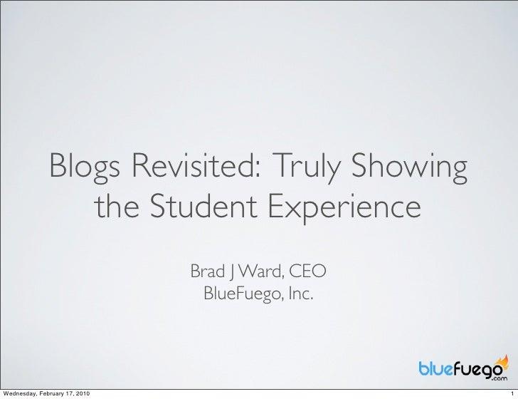 ReDefining Blogs