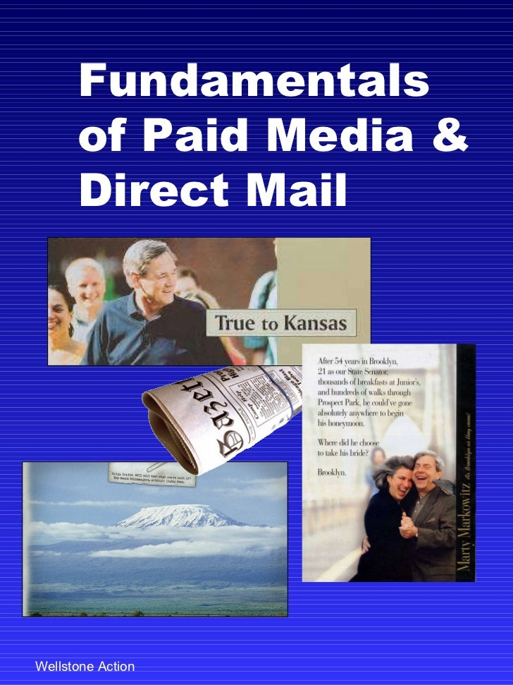 Fundamentals of Paid Media & Direct Mail