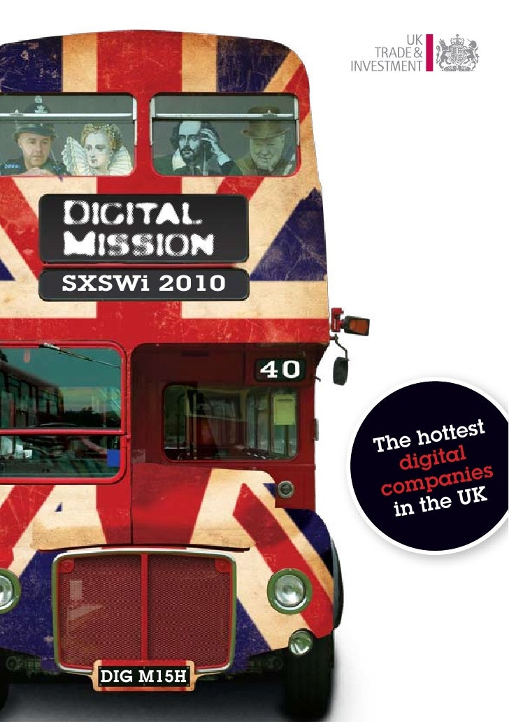 Digital Mission to SXSWi 2010 Brochure
