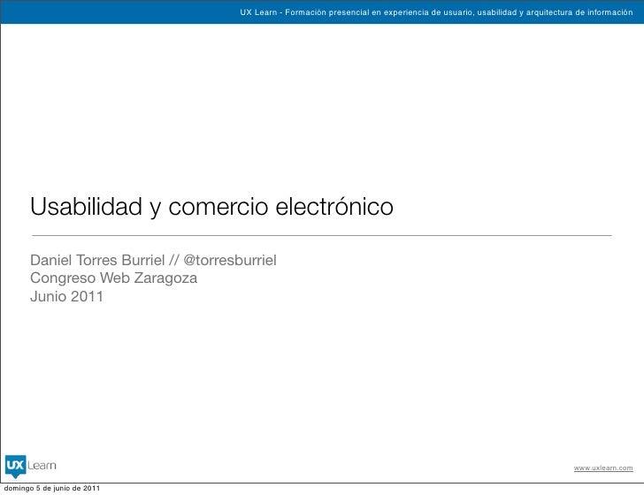 CWZ - Usabilidad y comercio electrónico