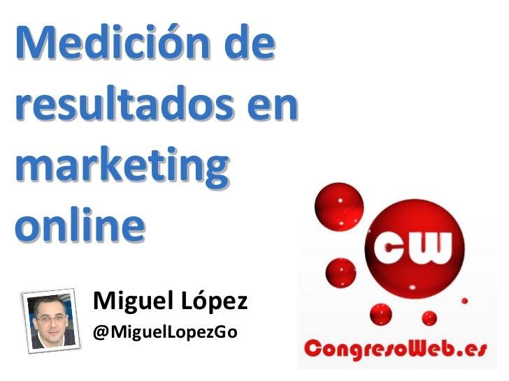 CW12 Medir estrategias de marketing online