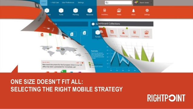 One Size Doesn't Fit All: Selecting The Right Mobile Strategy