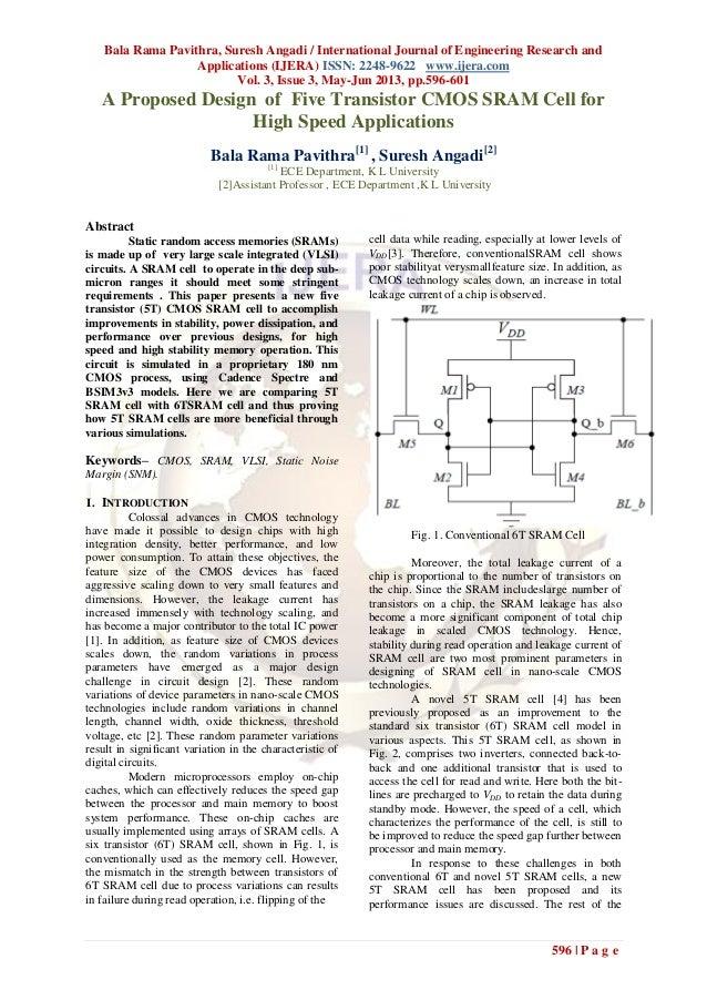 Bala Rama Pavithra, Suresh Angadi / International Journal of Engineering Research andApplications (IJERA) ISSN: 2248-9622 ...