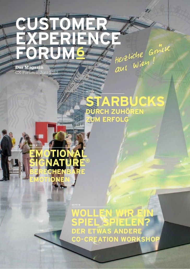 CXF Magazin 6