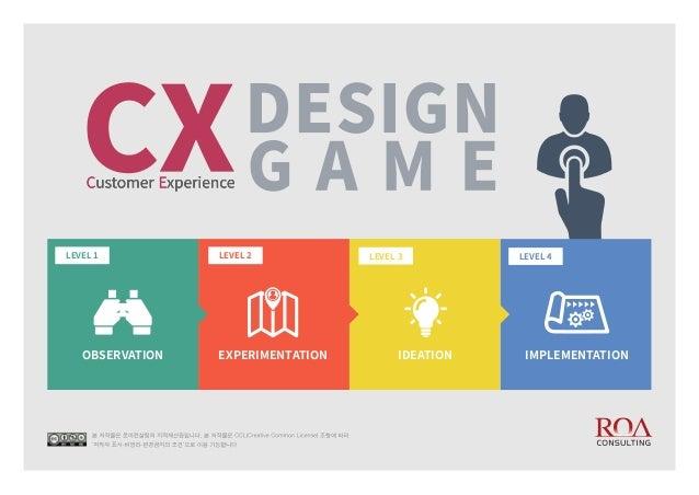 CX Design Game Guide Book