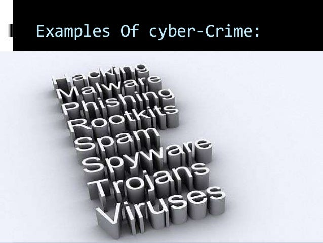 cyber crime research paper This research paper aims to must have individuals trained in computer disciplinesand computer forensics in order to accurately investigate computer crimes or.
