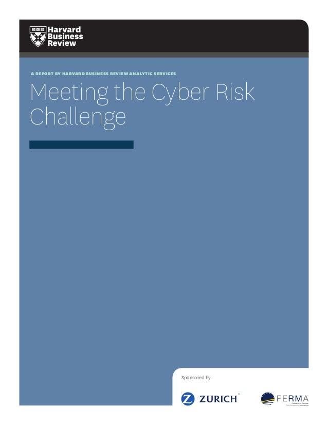 HBR - Zurich - FERMAZ - PRIMO Cyber Risks Report