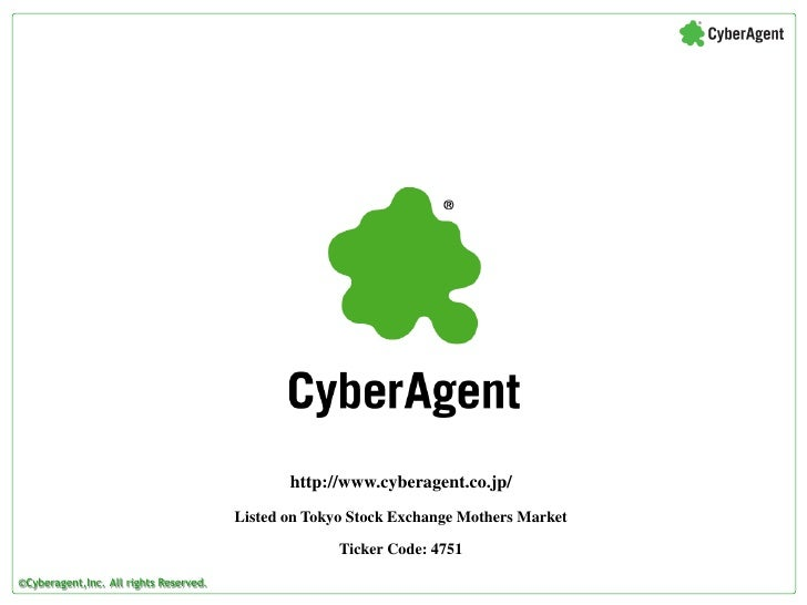 CyberAgent Corporate Profile