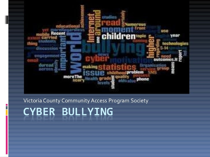 Cyber Bullying is Real