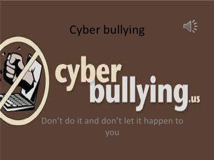 Cyber Bullying PSA
