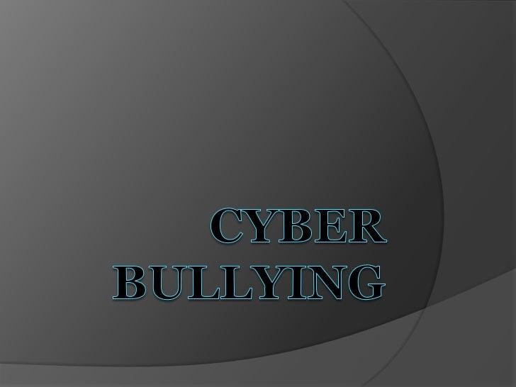 Cyber Bullying- JPWMC