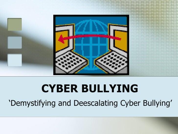 Cyberbullying Pp Bt28th