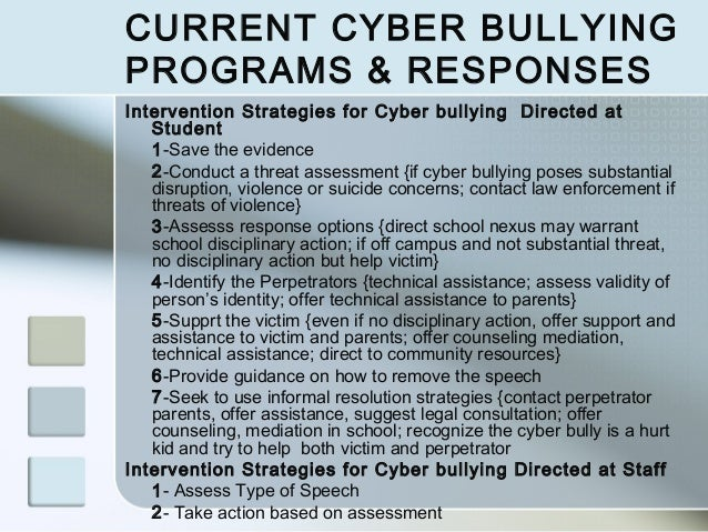 policies and procedures in response to concerns or evidence of bullying Policies and procedures that should be followed in response to concerns or evidence of bullying and explain the reasons why they are in place according to the schools and standards framework 1998 head teachers must ensure that there is a procedure in place to prevent bullying in the school.