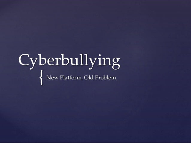 Cyberbullying - FILM2601 project