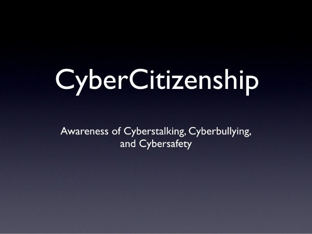 Introduction to Cybersafety