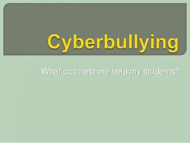 Cyberbully presentation