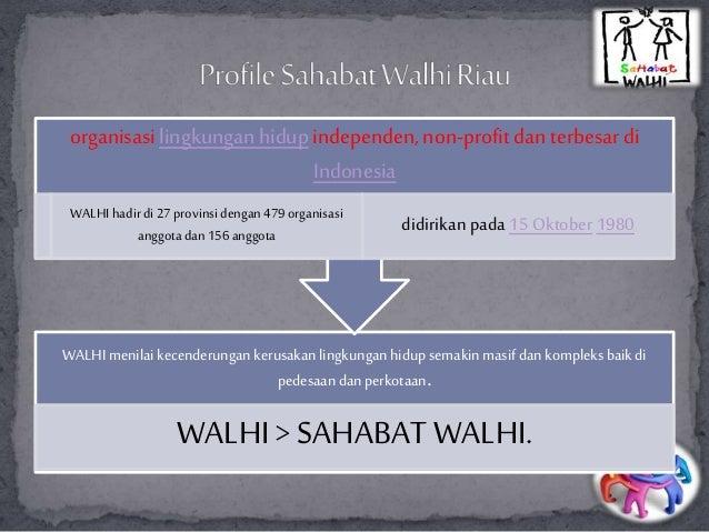 sahabat walhi riau by Tya