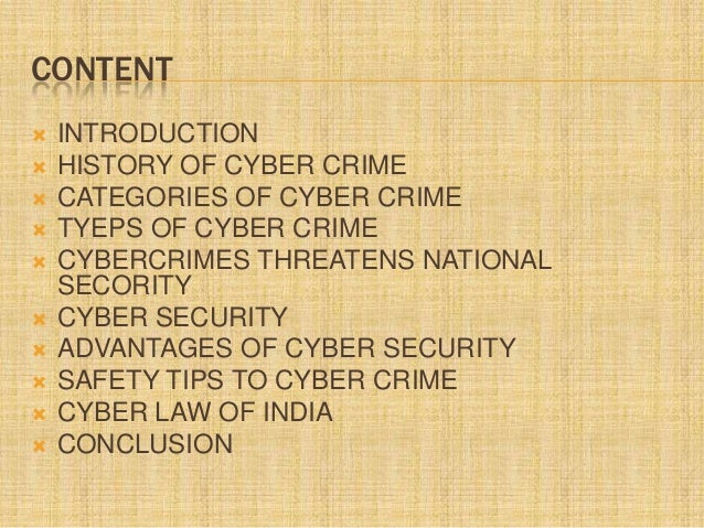 conclusion on cyber law 8conclusion cyber crime has high potential and thus creates high impact  what is cyber crime asian school of cyber law, 2008: access at .