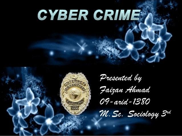 Cyber crime faizan project