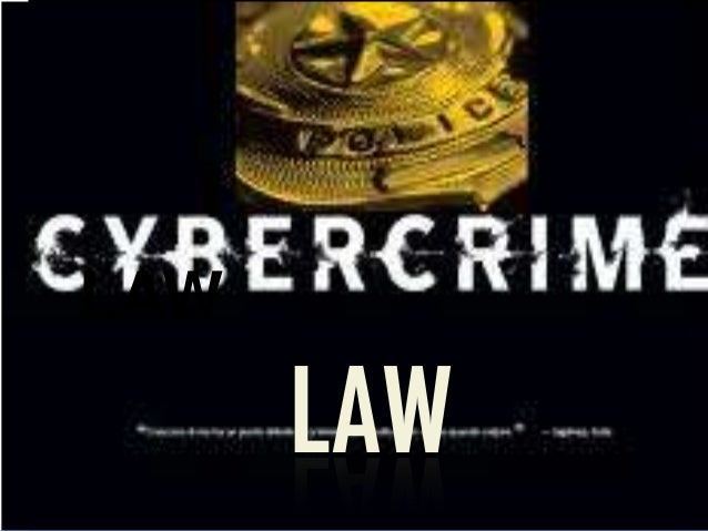 Cybercrime law legality report