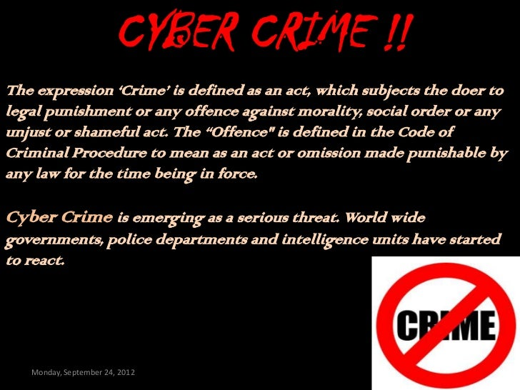 cyber crime essays Ssi 3013 information and communication technology in sciencetitle: what is cyber crime member's name : hasnor izzati binti che razali [d.