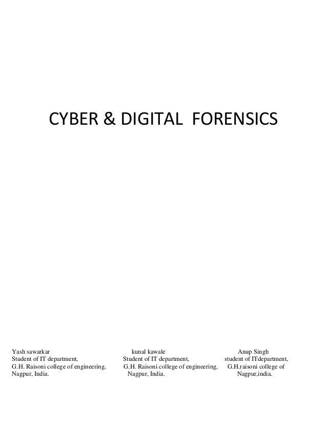 Cyber&digital forensics report