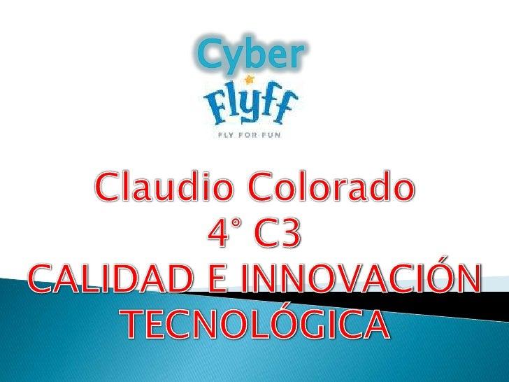 Cyber Flyff es un cyber/tienda de     videojuegos que proporciona entretenimiento a quien lo busca, y  ayuda a nuestros cl...