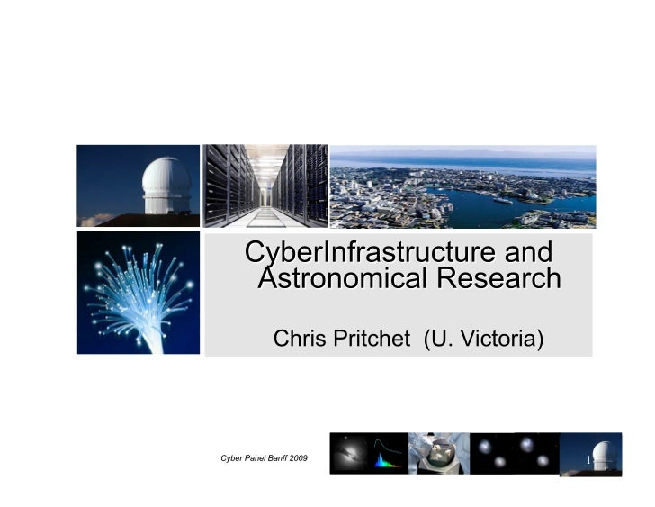 Cyberinfrastructure And Astronomical Research