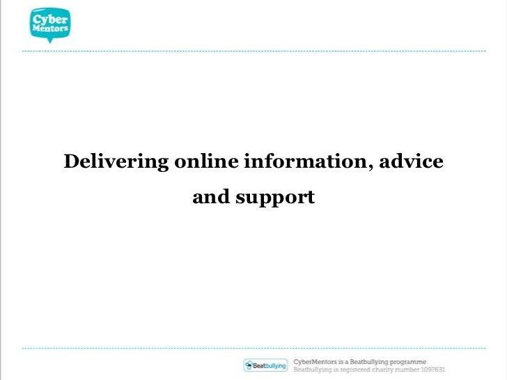 Delivering online information, advice and support<br />