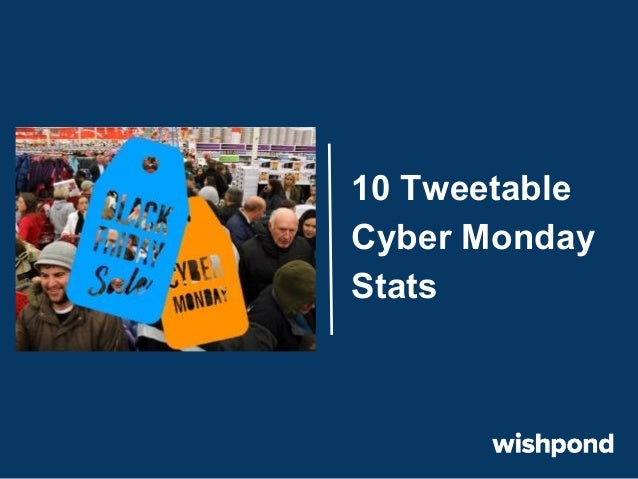 Cyber Monday: 10 Tweetable Stats
